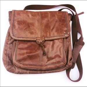 The Sak Leather Crossbody or BackPack